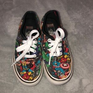 Kids marvel vans
